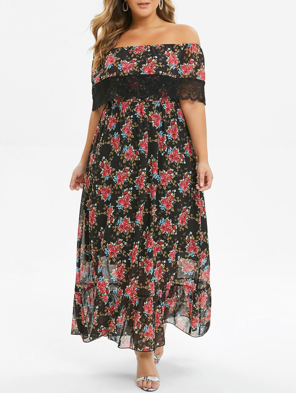 robe été fleurie chic