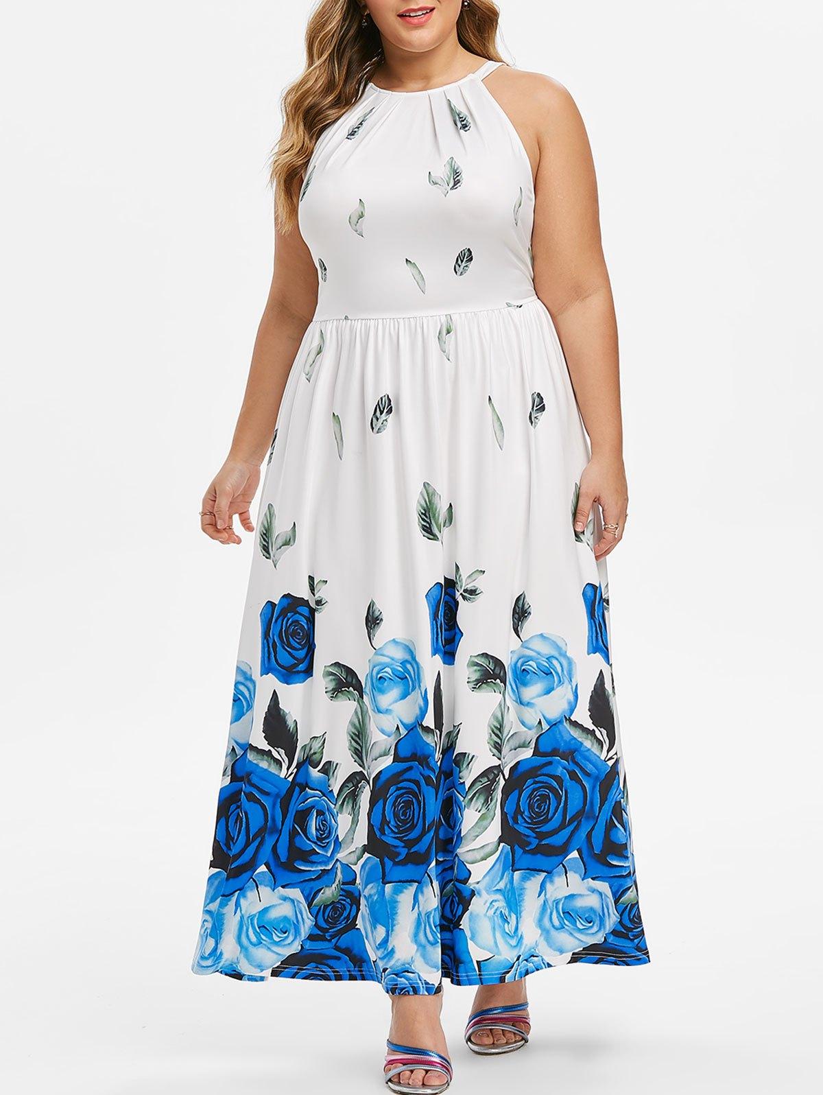 robe soirée blanche grande taille chic